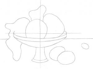 Передача пропорций и объема