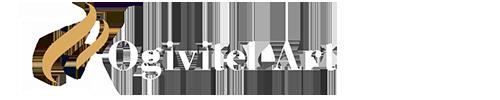 Логотип белые буквы без фона